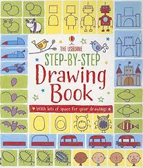 step by step drawing book activity books for little children fiona watt 9780794529536 amazon books