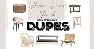 home decor trend dupes the rambling