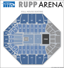 Concert Ticket Layout Inspiration Seating Diagrams Rupp Arena