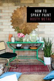 how to spray paint rusty metal take something rusty and turn it into a usable