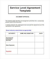 help desk service level agreement template sla template targer golden dragon co