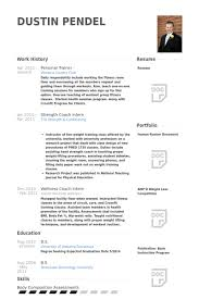 Personal Trainer Resume Template Adorable Personal Trainer Resume Samples VisualCV Resume Samples Database