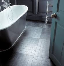 Rubber Flooring For Kitchens And Bathrooms Amtico Flooring With Underfloor Heating In A Grey Bathroom