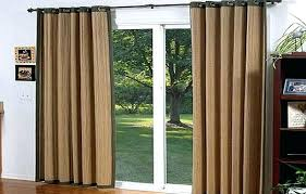 slider door curtain rods curtain for sliding door curtains full size of double throughout ds ideas