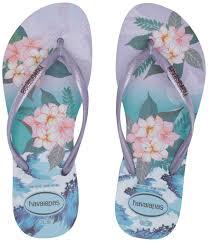 Havaianas Womens Slim Tropical Sunsetflip Flop Sandal Lavender 378 Br 7 8 M Us Womens 6 7 M Us Mens