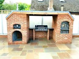outdoor stone pizza oven large size of fireplace combo gas black recipes blackstone canada wood