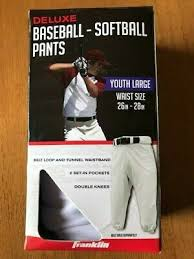 Clothing Youth Baseball Pants White