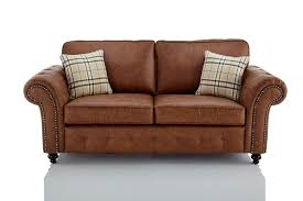 leather sofas uk. Contemporary Sofas Oakland Faux Leather 3 Seater Sofa  Brown Inside Sofas Uk E