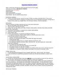 Properormator Resume Writing References Date Proper Format For A