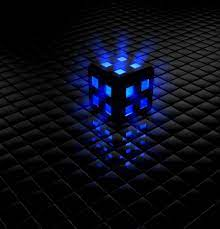 Free download Animated 3D Blue Cube ...