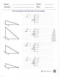 right angles and the pythagorean theorem perkins elearning pythagoreananswers jpeg