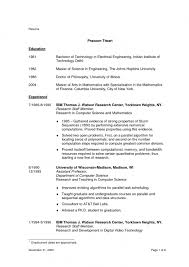 No Education Resumes Template Resume With No Education .