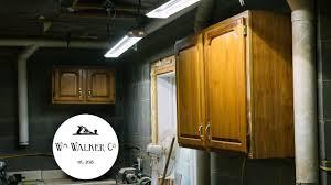 Hanging Shop Cabinets On Cinder Block Youtube
