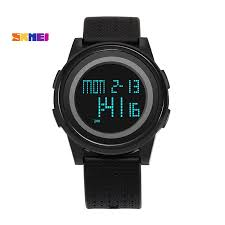 <b>SKMEI Men Women LED</b> Digital Watch Sport Thin Watches ...