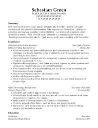 Best Office Secretary Resumes Resumehelp