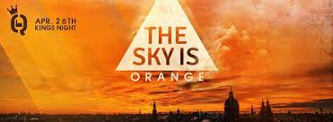 Orange Flyer Ra The Sky Is Orange At Q Factory Amsterdam 2016