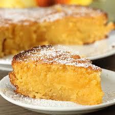 Italian Lemon Cake Torta Caprese Bianca grain free gluten free