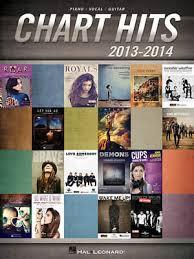 Pop Song Charts 2013 Chart Hits Of 2013 2014 Piano Sheet Music Guitar Chords 16