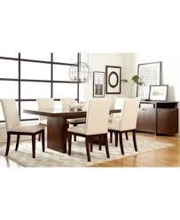 macy s furniture dining set. bari white 7-pc. dining set (table \u0026 6 chairs) macy s furniture