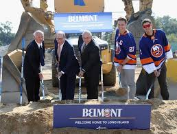 Belmont Race Track Seating Chart Islanders Break Ground On Arena At Belmont Park The New