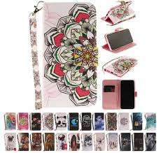 My Phone Owl Panda Mandala Dont Touch My Phone Flip Wallet Case Leather Case For Iphone X 5s Se 8 7 6 6s Plus Samsung Galaxy S8 S9 Plus A6 A8 2018 Camo Cell