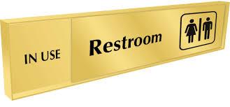 occupied bathroom sign. Occupied Bathroom Sign E