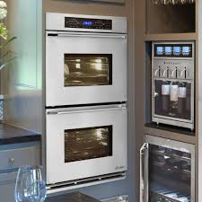 dacor renaissance rno230s stainless steel double wall oven with epicure handle