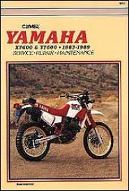 yamaha xt tt clymer motorcycle repair manual 1983 1989 yamaha xt tt 600 clymer repair manual