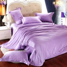 full image for luxury light purple bedding set queen king size lilac duvet cover double bed