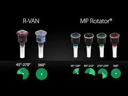 Hunter Mp Nozzle Chart Rain Bird R Van A Complete Line Of Rotary Nozzles