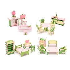 Where to find dollhouse furniture Bathroom Neweat Wooden Delicate Dollhouse Furniture Toys Miniature For Kids Children Funny Pretend Play Toys Role Playing Toy With Boxin Furniture Toys From Toys Fisherprice Mattel Neweat Wooden Delicate Dollhouse Furniture Toys Miniature For Kids