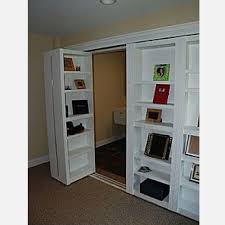 closet door bookcase for the home