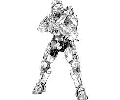 Master Chief Free Coloring Pages On Art Coloring Pages