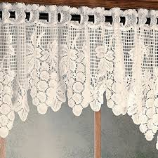 Lace Window Treatments Vineyard Grapes Lace Window Treatment