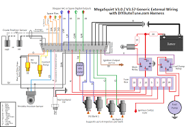 wiring harness diagram wiring wiring diagrams online 10 mega electronic fuel injection wiring harness ms1 ms2