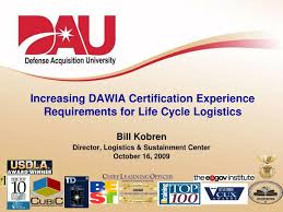 Ppt Increasing Dawia Certification Experience Requirements