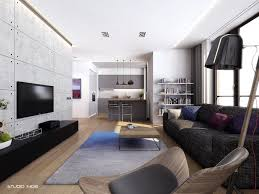 Living Room Apartment Design Apartment Living For The Modern Minimalist