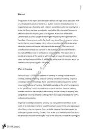 nmih empathy essay nmih patterns of knowing in nursing nmih102 empathy essay
