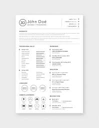 Free Simple Clean Resume (CV) Design Template Sketch File ...
