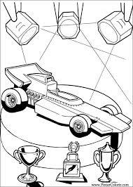 Tekeningen Te Schilderen Kleur Hot Wheels Print Design 015