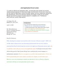 9 Professional Cover Letter Examples Pdf