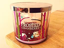 frosted cranberry candle bath and body works bath and body works candle review frosted cranberry youtube