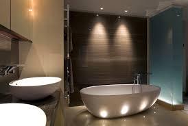 modern bathroom lighting luxury design. unique design decoration catchy white freestanding bathtub for modern bathroom design  idea efat charming led lighting and luxury g