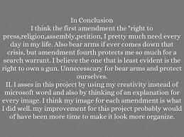 bill of rights photo essay by rosana garcia i think the first amendment the right to press religion assembly petition i pretty much need every day in my life also bear arms if ever comes down that