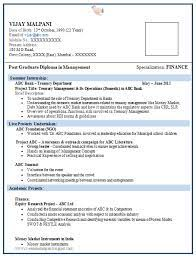 Download this free resume template. Mba Fresher Resume For Marketing And Finance Financeviewer