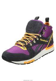 reebok high top shoes for men. reebok gl 6000 mid men\u0027s aubergine solar orange high-top trainers gravel paperwhite shoes high top for men g