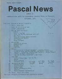 Pascal News