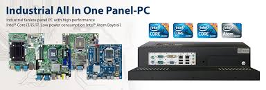 fanless pc industrial monitor box pc