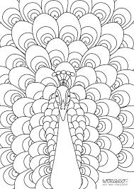 Mandala Kleurplaten Pauw