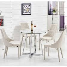 glass dining table and chairs alluring round glass dining table with chairs  4 seater set modern